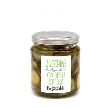 Zucchine con Cipolla sott'olio