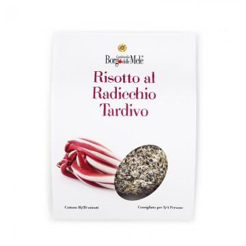 Late radicchio risotto