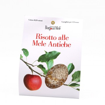 Risotto with ancient apples