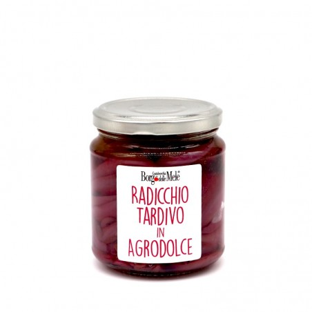 Late radicchio in sweet and sour